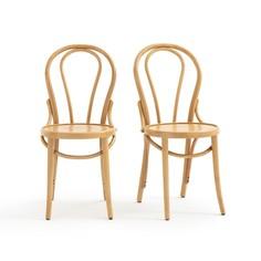 Комплект из 2 высоких стульев La Redoute