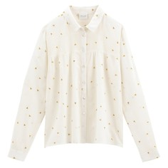 Рубашка со сборками на груди Vilunas Vila