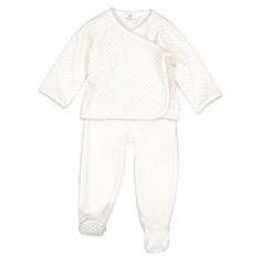 Пижама из велюра, 0-2 лет LA Redoute Collections