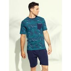 Пижама раздельная, короткие рукава, 100% хлопок Daniel Hechter Lingerie