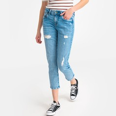 Джинсы бойфренд, покрой с 5 карманами Pepe Jeans