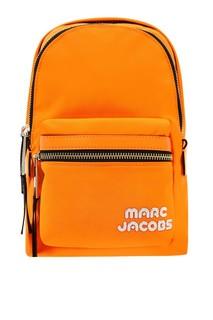 Оранжевый текстильный рюкзак Marc Jacobs