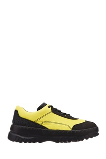 Желто-черные сандалии Camper x Kiko Kostadinov