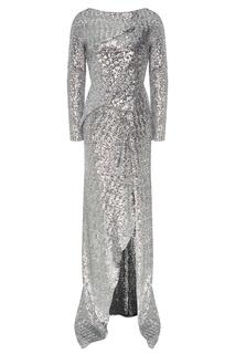 Платье макси с пайетками Sarandon Roland Mouret