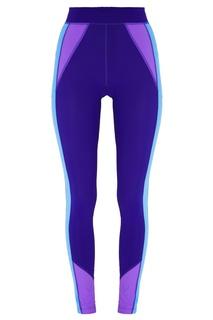 Фиолетовые леггинсы с голубыми лампасами Isabel Marant
