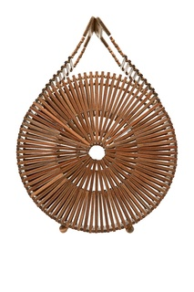 Коричневая бамбуковая сумка Zaha Cult Gaia