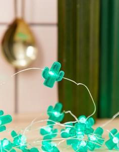 Световая гирлянда с кактусами Sunnylife - Зеленый
