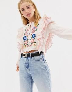 2e81a583deb Женские блузки с принтом – купить блузку в интернет-магазине