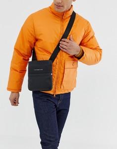 Черная сумка через плечо Tommy Hilfiger - Черный