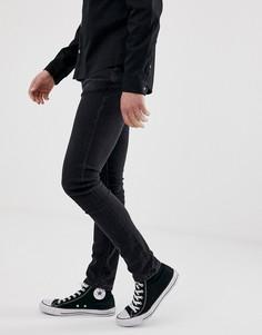 Черные джинсы скинни Nudie Jeans co - Черный