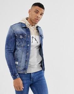 Джинсовая куртка Chasin Bolt Elite - Синий Chasin
