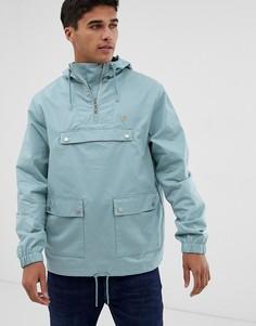 Бирюзовая куртка с капюшоном Farah Hartnoll - Синий
