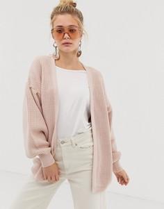 Oversize-кардиган New Look - Розовый