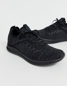 Черные кроссовки Puma Ignite Flash Evoknit - Черный