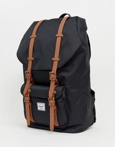 Черный рюкзак объемом 25 литров Herschel Supply Co Little America - Черный