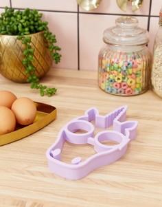 Форма для яичницы в виде единорога Sunnylife - Розовый