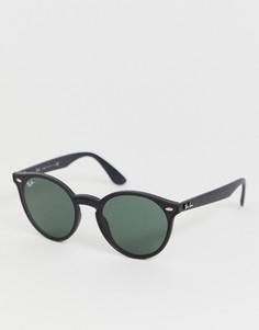 Круглые солнцезащитные очки Ray-Ban 0RB4380N - Черный