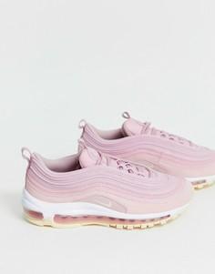 Розовые кроссовки Nike Air Max 97 - Розовый