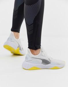 Бело-желтые кроссовки Puma Training Defy - Белый