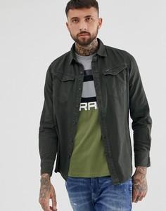 Серая приталенная рубашка G-Star Arc - Серый