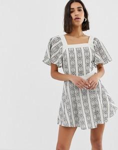 Платье мини Stevie May Noir - Мульти