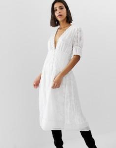 Платье миди Stevie May Changer - Белый