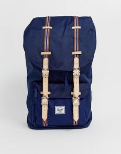Темно-синий рюкзак Herschel Supply Co Offset Little America 25l - Темно-синий
