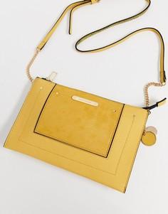 Желтая сумка через плечо River Island - Желтый