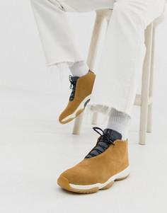 Коричневые кроссовки Nike Air Jordan Future - Коричневый