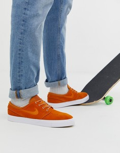 Оранжевые кроссовки Nike SB Zoom Stefan Janoski - Оранжевый