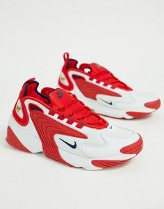 Красные кроссовки Nike Zoom 2K - Красный