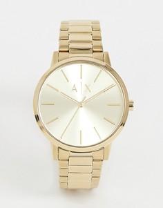Наручные часы Armani Exchange AX2707 Cayde - 42 мм - Золотой