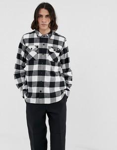 Черная рубашка в клетку Dickies Sacramento - Черный