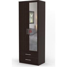 Шкаф двухдверный Гамма Дуэт 60х60 венге