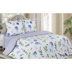 Комплект постельного белья Ecotex евро, поплин, Поэтика Джесика (4660054340604)