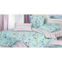 Комплект постельного белья Ecotex 2 сп, сатин, Гармоника Вербена (4660054340741)