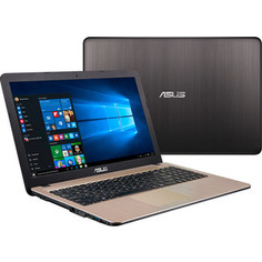 Ноутбук Asus R540YA-XO257T (90NB0CN1-M11040) Chocolate Black 15.6 (HD E1-7010/4Gb/500Gb/W10)
