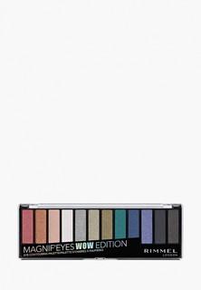 Палетка для глаз Rimmel Magnifeyes Palette, 6 Wow Edition, 14,2 гр