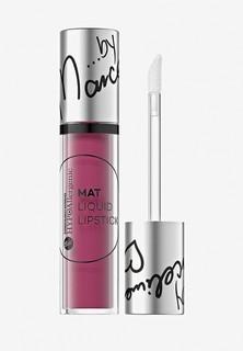 Помада Bell Матовая Жидкая Гипоаллергенная Mat Liquid Lipstick Тон 102