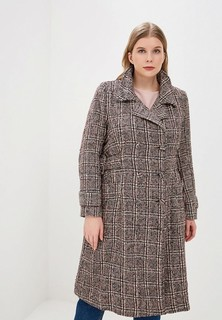 Пальто LOST INK PLUS CHECK COAT WITH BUCKLES