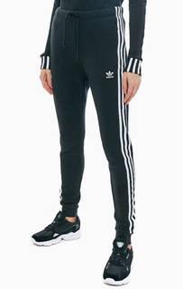 Черные брюки джоггеры из хлопка Adidas