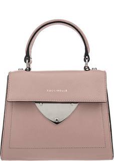 b4061bc85918 Маленькая сумка из мягкой кожи с откидным клапаном В14 Coccinelle
