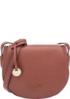 Кожаная сумка с откидным клапаном Clementine Coccinelle