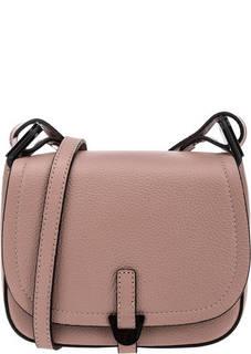 Кожаная сумка с одним отделом Fauve Coccinelle