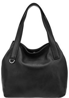 Вместительная сумка из зерненой кожи Mila Coccinelle