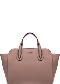 Кожаная сумка с короткими ручками Lulin Soft Coccinelle