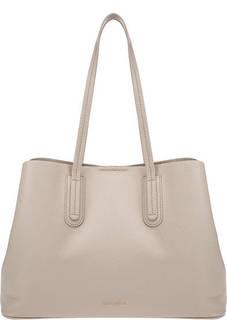 Кожаная сумка с двумя отделами Dione Coccinelle