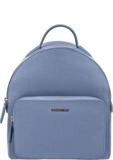 Синий рюкзак из сафьяновой кожи Clementine Coccinelle