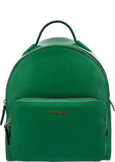 Кожаный рюкзак зеленого цвета Clementine Soft Coccinelle