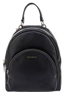 Темно-синий рюкзак из зерненой кожи Alpha Coccinelle